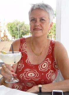 Margaritas in Santa Fe, New Mexico, for my 60th!