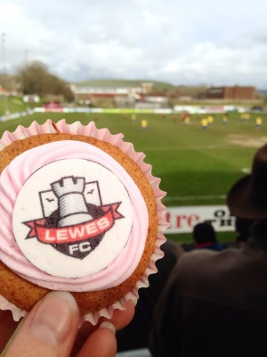Lewes Football Club - first for equal pay!