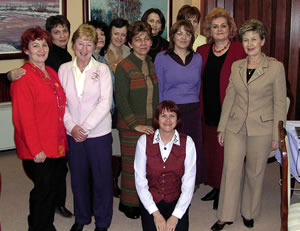 I worked with these nursing leaders from Bosnia and Herzegovina, rebuilding health services shattered by the Balkans conflict